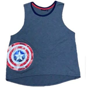Marvel Captain America Sleeveless Tank